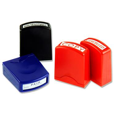 Concept Set Of 8 Office Pro Self-inking Stamp Set