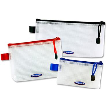 Premier Office Pkt.3 Multipack Mini Mesh Storage Wallets