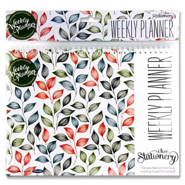 I Love Stationery A4 Spiral Weekly Planner 40 Sheets