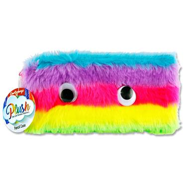 EMOTIONERY PLUSH PENCIL CASE - ONE LOVE RAINBOW