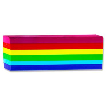 Emotionery Rainbow Plush Jumbo Eraser