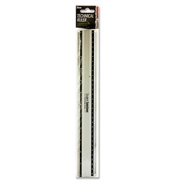 Student Solutions 30cm Technical Ruler - Aluminium