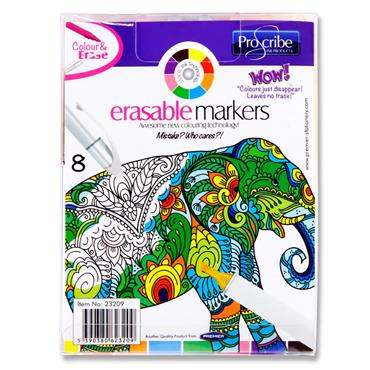 Pro:scribe Set 8 Erasable Markers