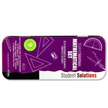 Student Solutions 9pce Maths Set - Purple