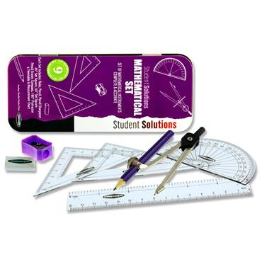 Student Solutions 9pce Maths Set - Purple