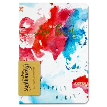 I LOVE STATIONERY A5 192pg JOURNAL - LET'S TRAVEL