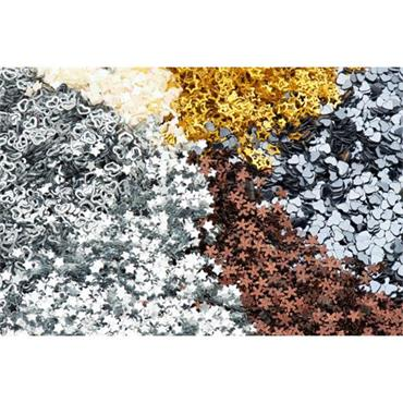 Icon Craft 50g 6 Part Glitter Shaker Cdu - Metallics