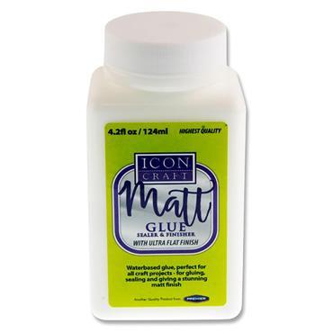 Icon Craft 124ml Bottle Matt Glue