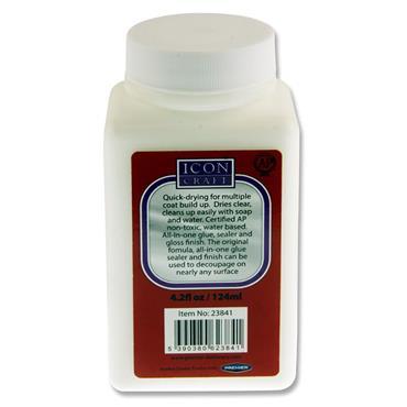 Icon Craft 124ml Bottle Gloss Glue