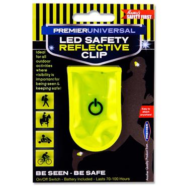Premier Universal Led Safety Reflective Clip