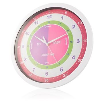 Clever Kidz Easyread 34cm My First Wall Clock