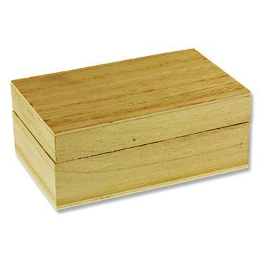 Icon Craft 100x60mm Wooden Box - Rectangular