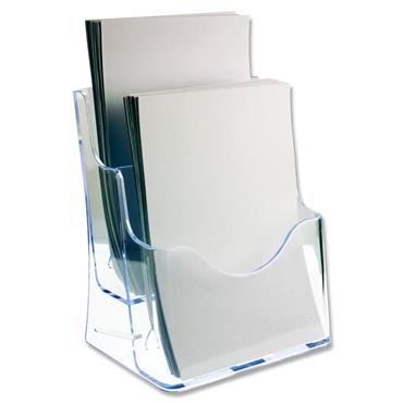 Concept A4 Literature Holder - Two Tier