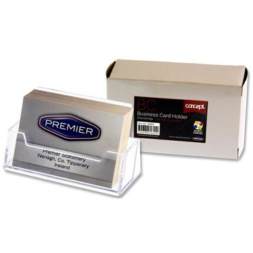 Concept Countertop Business Card Holder