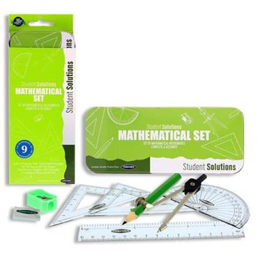 STUDENT SOLUTIONS 9pce MATHS SET - CATERPILLAR