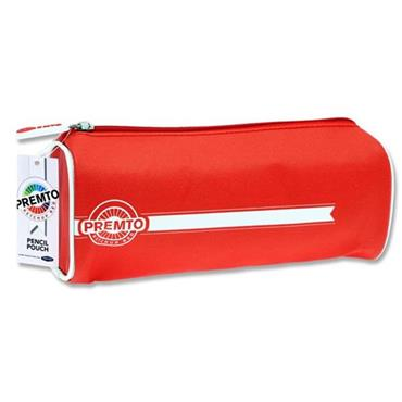 PREMTO RECTANGULAR PENCIL POUCH - KETCHUP RED
