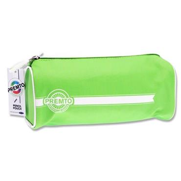PREMTO RECTANGULAR PENCIL POUCH - CATERPILLAR GREEN