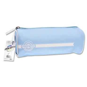 PREMTO PASTEL RECTANGULAR PENCIL POUCH - CORNFLOWER BLUE