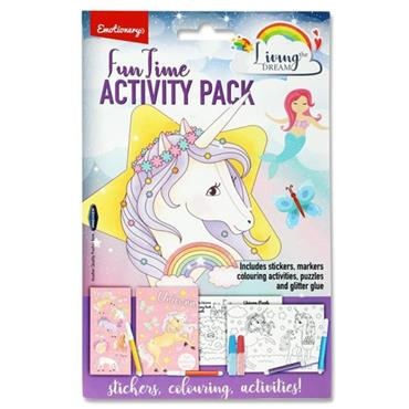 EMOTIONERY FUN TIME ACTIVITY PACK - UNICORN
