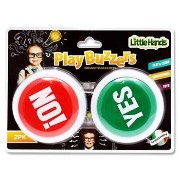 LITTLE HANDS SET 2 YES & NO PLAY BUZZERS