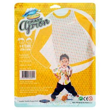WOC CHILDREN APRON  37x50 cm  4-8 yrs , SIZE L