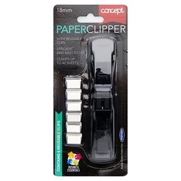 CONCEPT 18mm PAPER CLIPPER