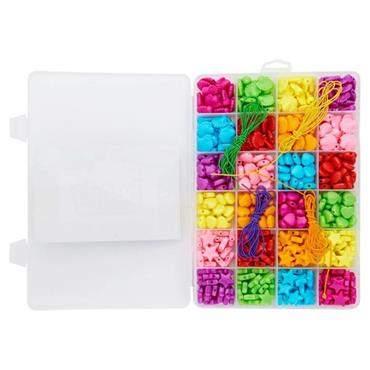 CRAFTY BITZ BOX SET 24 ASST SHAPE BEADS