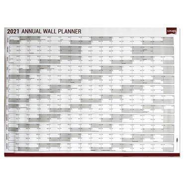 CONCEPT 2021 A1 850x850mm WALL YEAR PLANNER