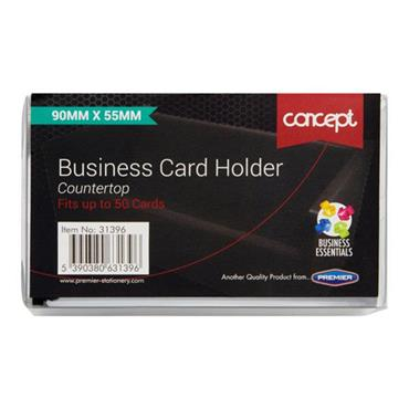 CONCEPT BUSINESS CARD HOLDER 90x55mm