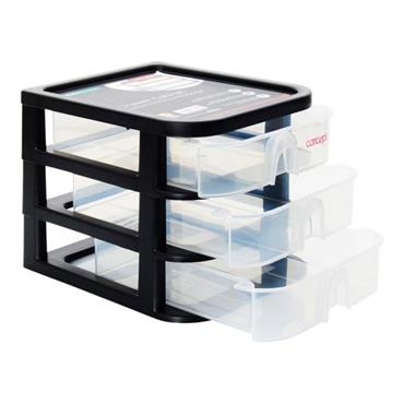 CONCEPT 3 DRAWERS CABINET 21.2x17.3x16.7cm
