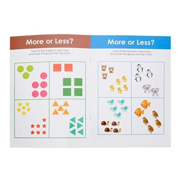 ORMOND A4 WIPE CLEAN LEARNING BOOK WITH PEN - MATHS AND COUNTING