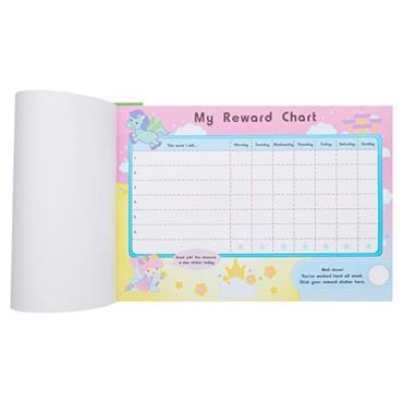 CLEVER KIDZ TASK & REWARD CHART PAD W/STICKERS