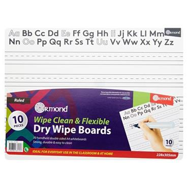 ORMOND DRY ERASE BOARDS SET OF 10 - LETTER
