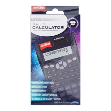 PREMIER CALCULATOR  Fx240-Ifs SCIENTIFIC