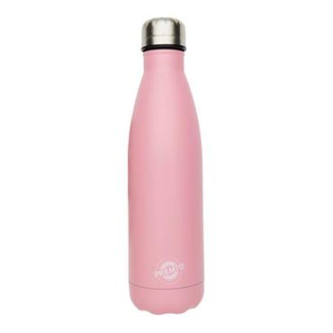 PREMTO STAINLESS STEEL WATER BOTTLE 500ml - PINK SHERBET