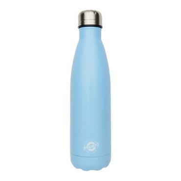 PREMTO STAINLESS STEEL WATER BOTTLE 500ml - CORNFLOWER BLUE