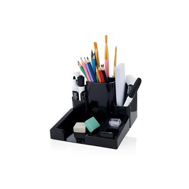 CONCEPT MULTIFUNCTIONAL DESK TIDY WITH BUILT-IN TAPE DISPENSER