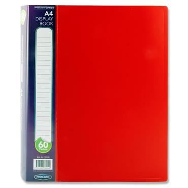 PREMIER OFFICE A4 60 POCKET DISPLAY BOOK