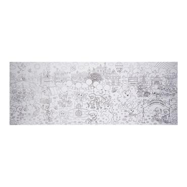 WOC JUMBO 40cm x 1m COLOURING-IN POSTER - FUN PARK