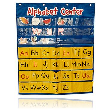ORMOND POCKET CHART ALPHABET CENTER