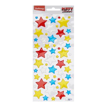 EMOTIONERY CARD 59 PUFFY STICKERS - STARS