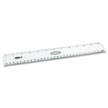 "STUDENT SOLUTIONS 12""/30cm TRANSPARENT RULER CDU"