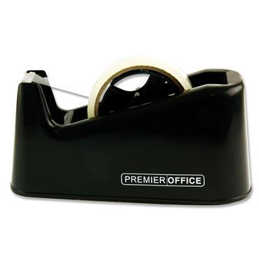 Premier Office Tape Dispenser - Black