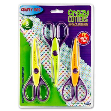 Crafty Bitz Card 3 Crazy Cutters Craft Scissors