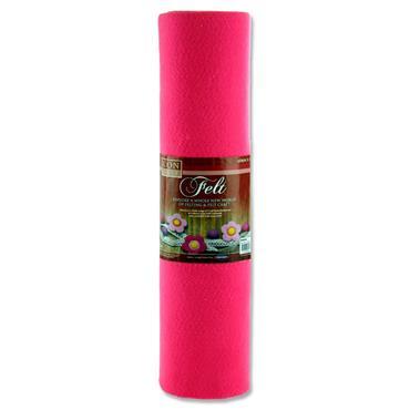 Icon Craft 45cm X 5m Roll Felt - Pink