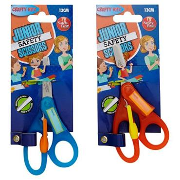 Crafty Bitz Children's Craft Scissors 2 Asst.