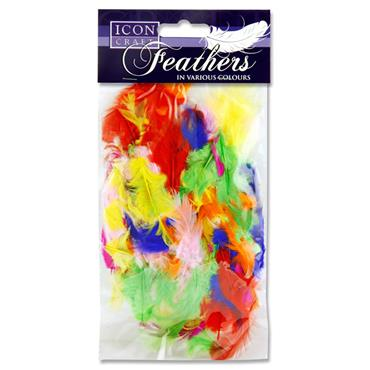 Icon Craft 7g Bag Feathers - Bright