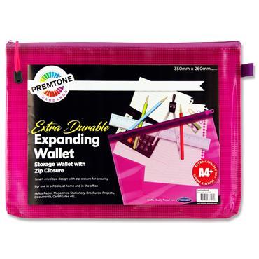 Premtone A4+ Extra Durable Mesh Storage Wallet - Fandango