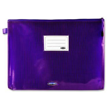 Premto A4+ Extra Durable Mesh Wallet - Ultraviolet