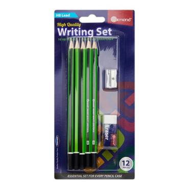 Student Solutions 12pce Carded Writing Stationery Set
